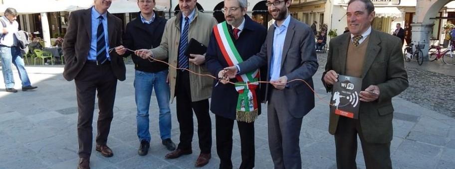 inaugurazione wifi udine gabriele giacomini