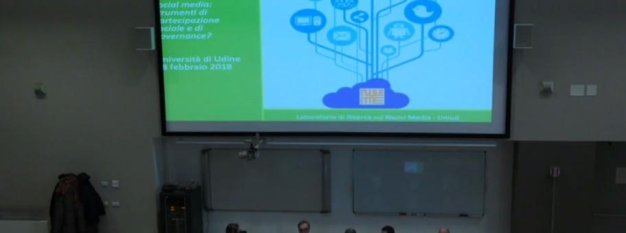 Social media, tecnologie digitali e sicurezza urbana: seminario a Pordenone